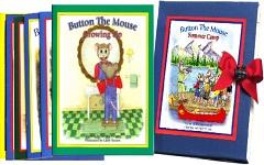 Button The Mouse 6 book box set older children