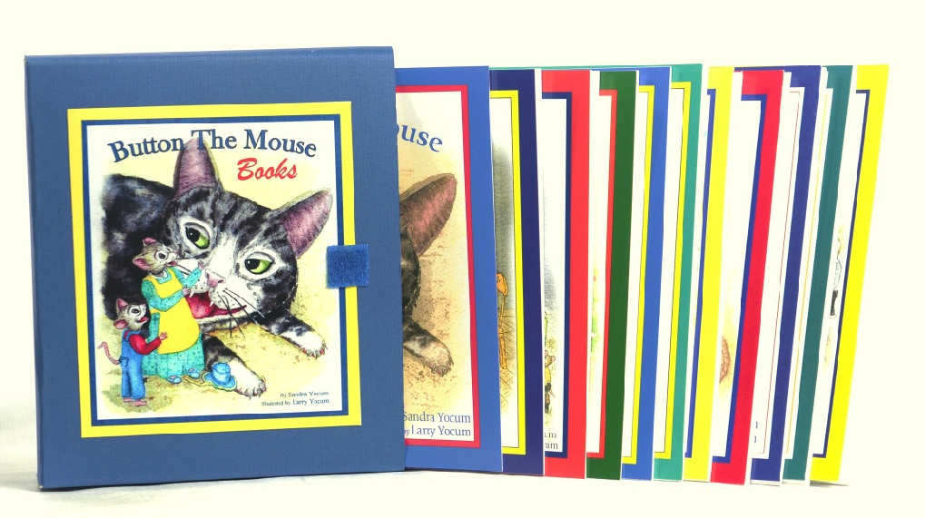 Button the Mouse book Collection.