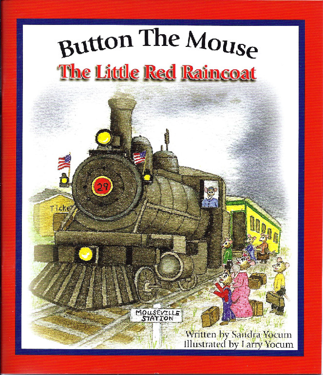 Button The Mouse The Little Red Raincoat